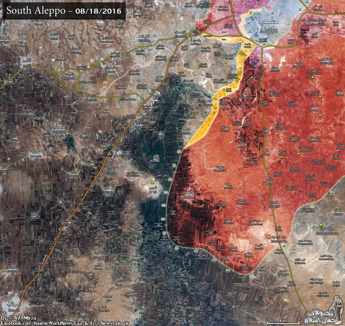 Overview of Military Situation in Aleppo City on August 18-19 (Maps, Videos)