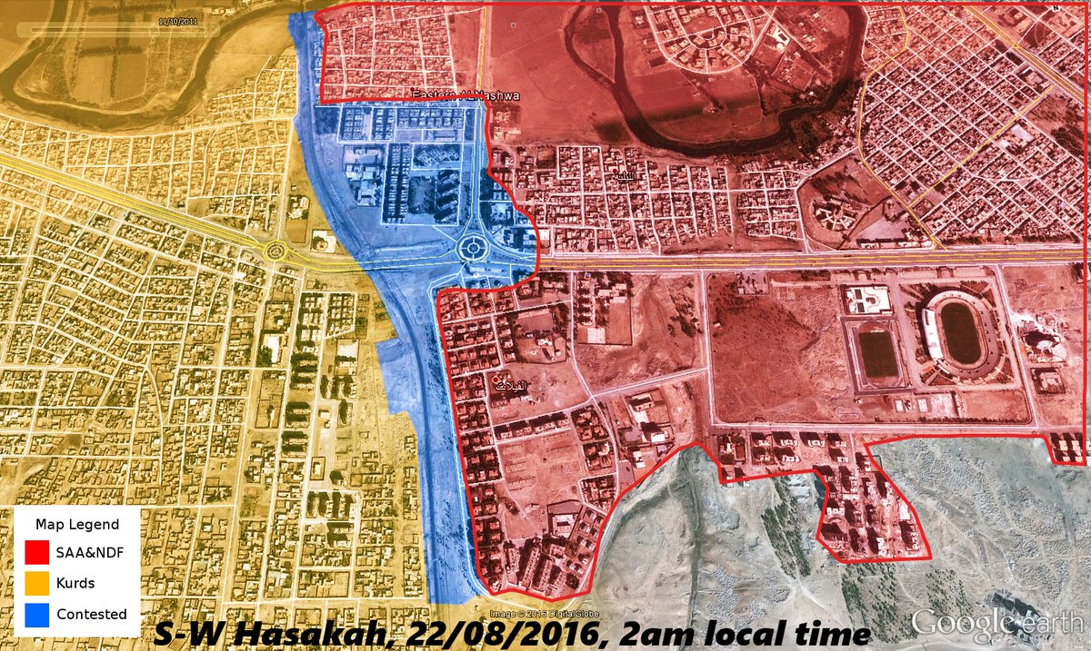 Reported Ceasefire Collapsed in Hasakah (Again). Clashes Ongoing