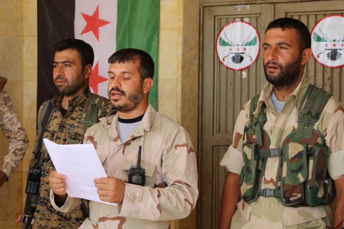 Turkey Strikes ISIS Targets in Syria's Jarablous, PYD targets in Northern Manbij