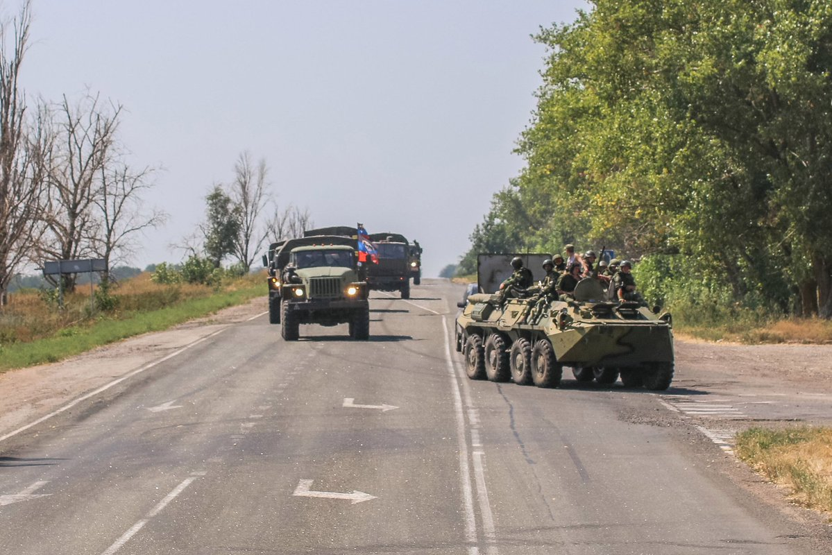 DPR Forces Launch Drills in South Coast of Donbass Region (Photoreport)
