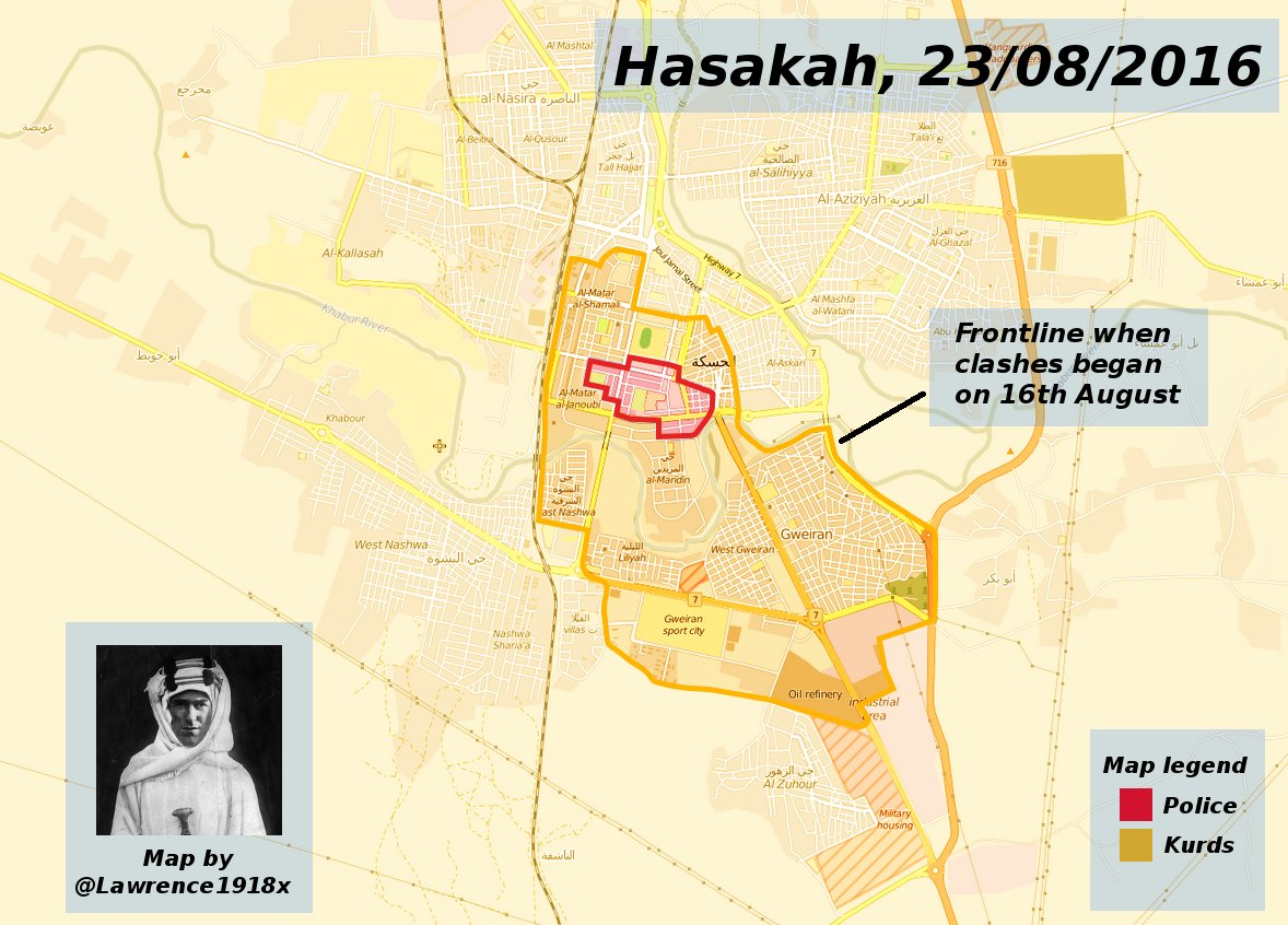 Ceasefire between YPG and Pro-Government Militias Implemented in Hasakah