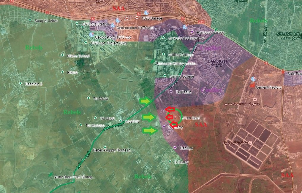 Jaish al-Fateh Launches Counter-Attack on Strategic Hill in Southern Aleppo (Videos, Map)