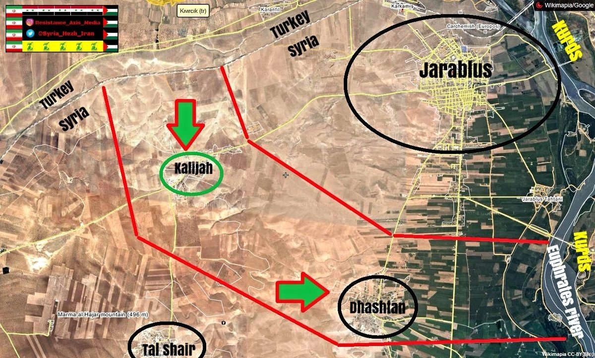 Studying Turkish Intervention in Syira (Analysis, Maps, Videos, Military Reports)