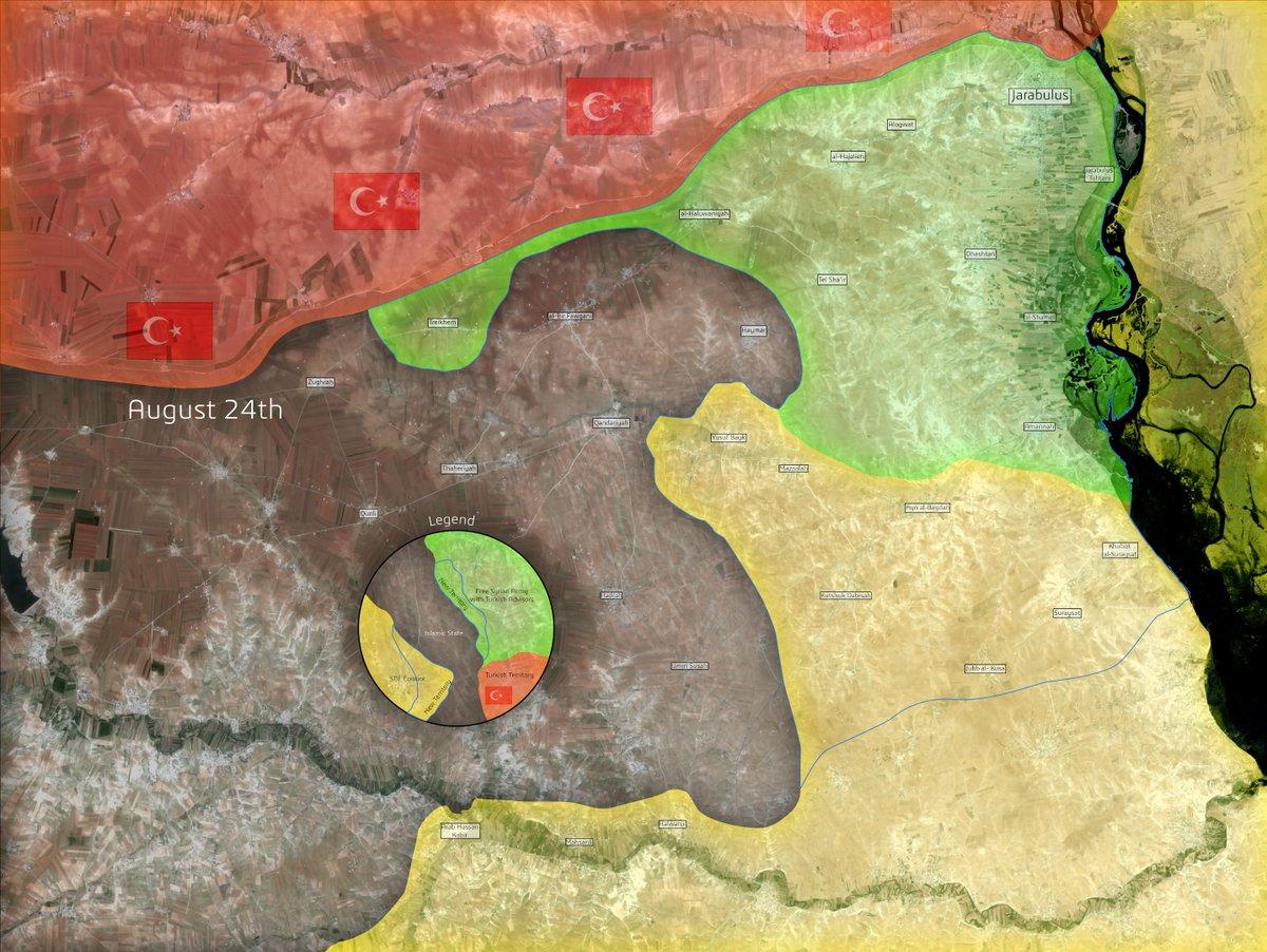 Turkey & USA: Syrian Jarablus Region Must Be Cleared of Kurds