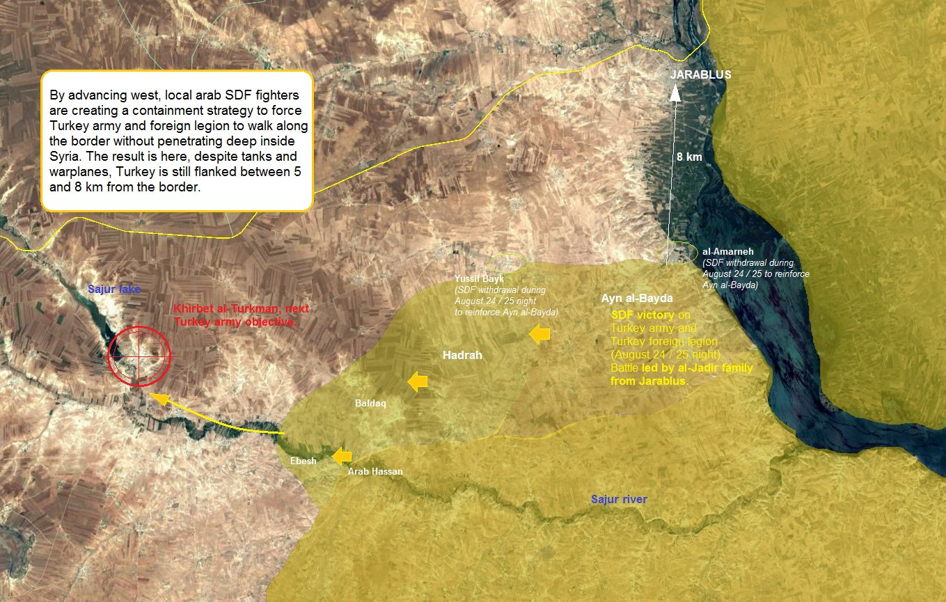 Clashes between Turkish-led Forces and SDF Units Continued in Northern Syria - Reports