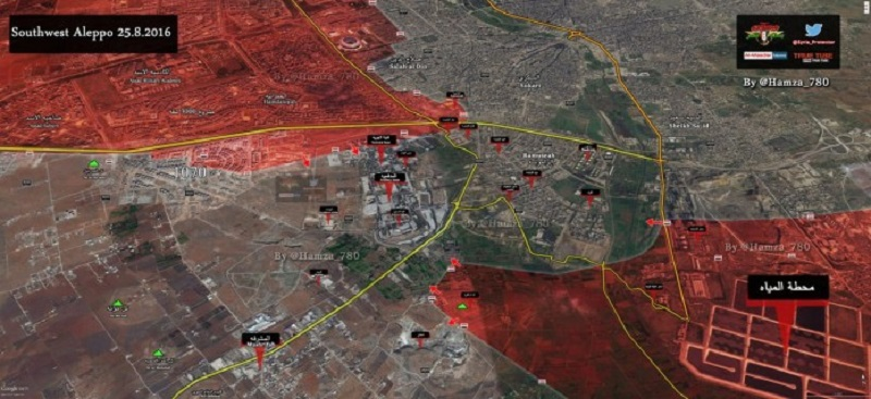 Syrian Army, Hezbollah attack Jaysh Al-Fateh in southern Aleppo