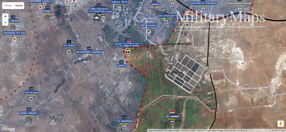 Overview of Battle for Aleppo on August 29