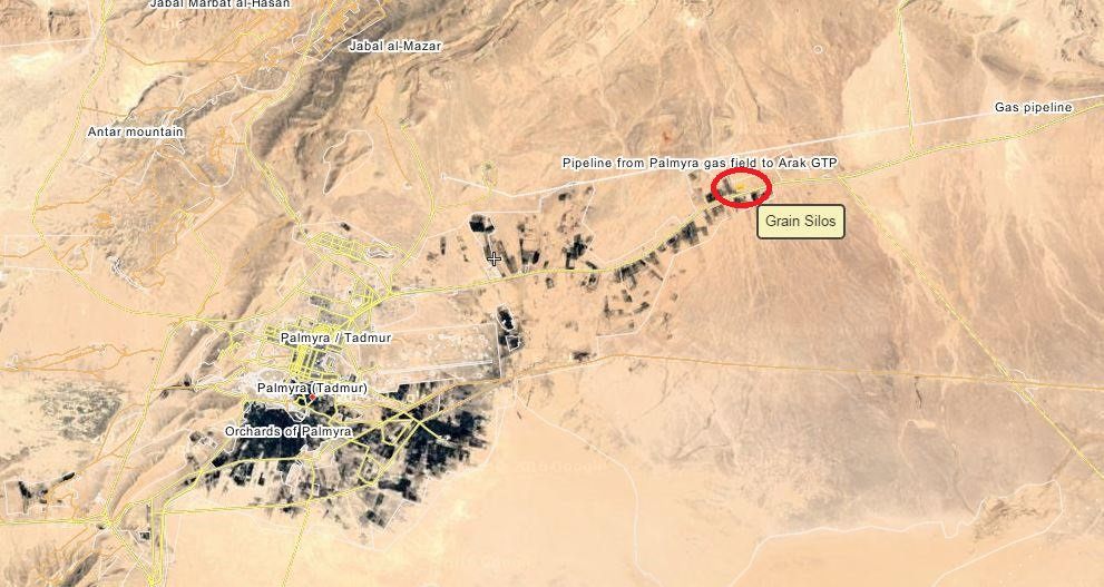 Syrian Army Liberates Gas Pipeline Area from ISIS East of Palmyra