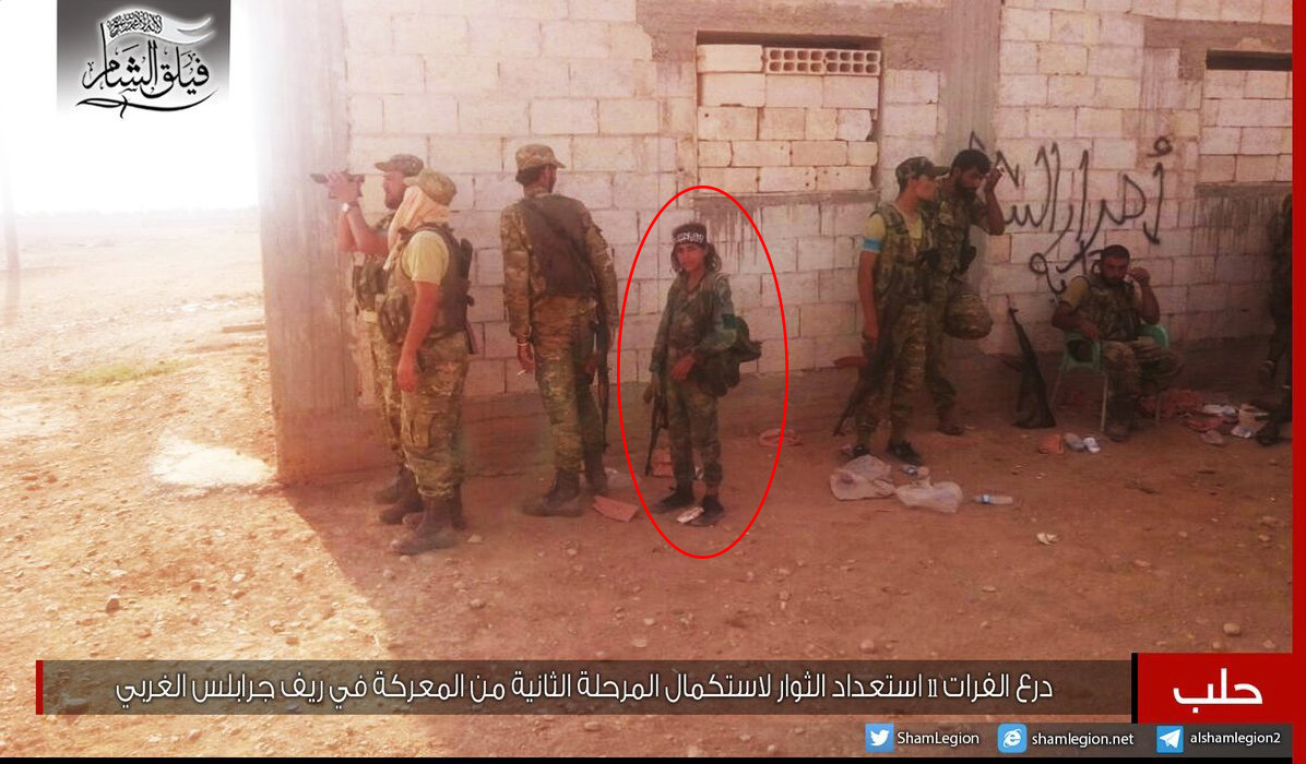 Turkish-backed Militants Use Child Soldiers during Military Operations in Northern Syria (Photo)