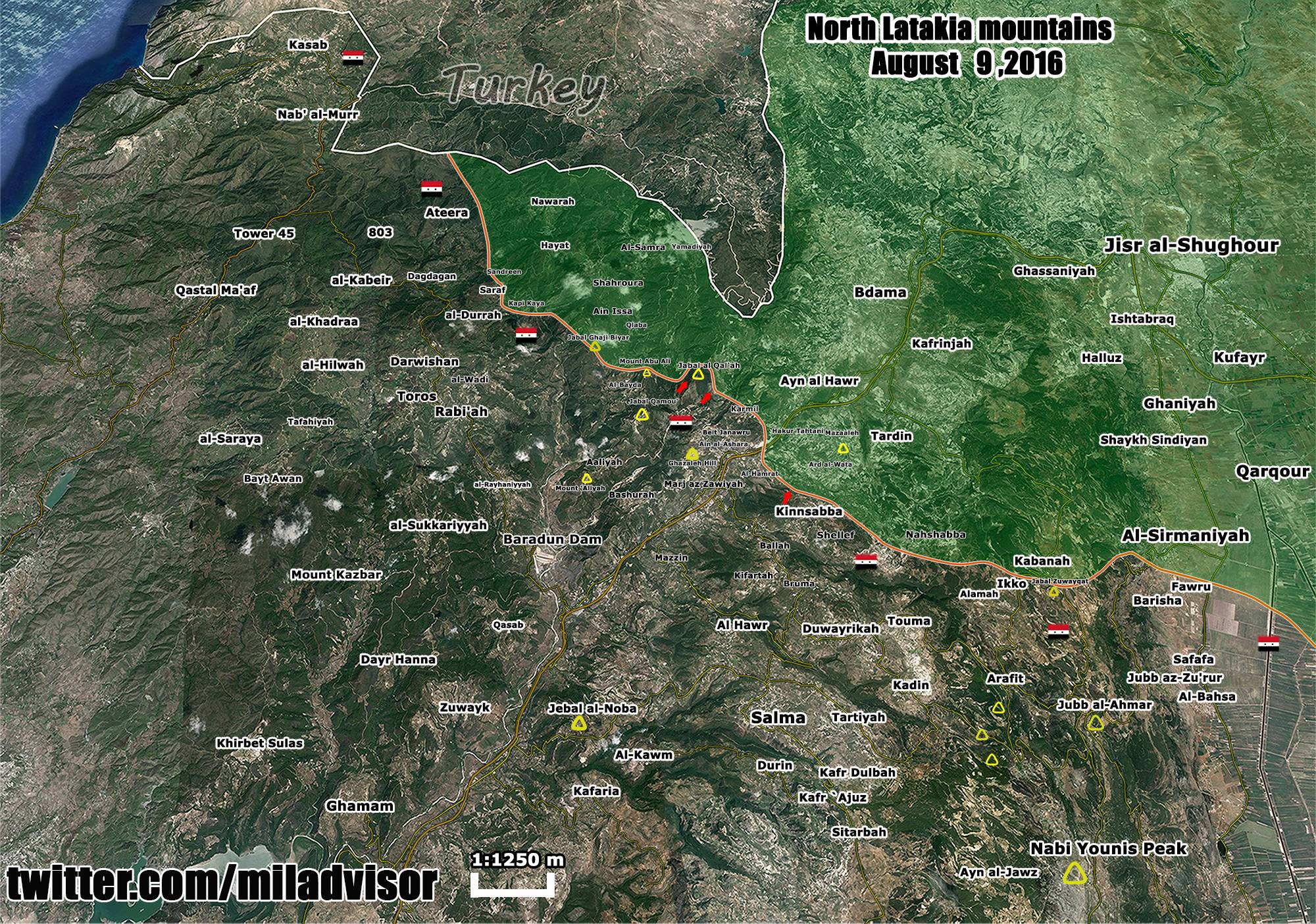 Situation in Northern Latakia and Its Implications to Battle for Aleppo