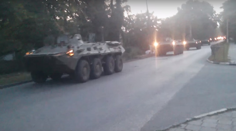 Russia Deploys Military Equipment to Border with Ukraine (Video)