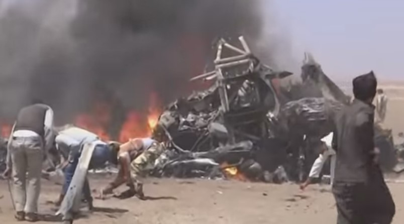 Russian Helicopter Shot Down in Syria: 5 Confirmed Dead (Video)