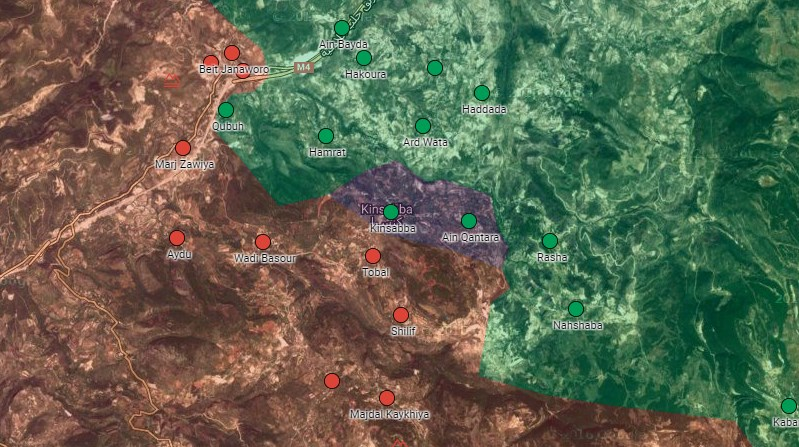 Syrian Army Liberate Kinsibba and al-Qantarah in Northern Latakia