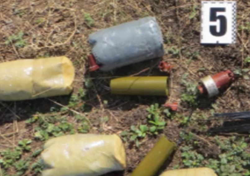 VIDEO: Equipment of Ukrainian Saboteurs that Attempted to Plot Terrorist Attacks in Crimea
