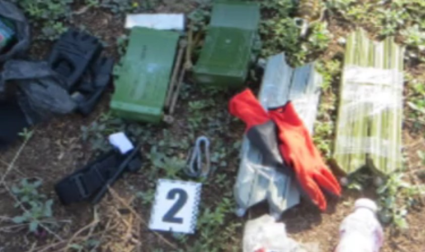 VIDEO: Equipment of Ukrainian Saboteurs that Attempted to Plot Terrorist Attacks in Crimea