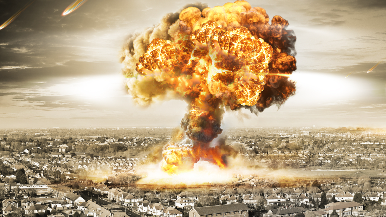nuclear bomb The nuclear bomb is the most powerful weapon ever created, and today there are enough in military arsenals to kill every living thing on the planet several times over there are two basic kinds of nuclear weapons.