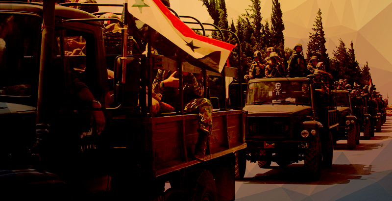 Syrian Military Sends More Reinforcements To Its Positions In Hama, Idlib And Lattakia