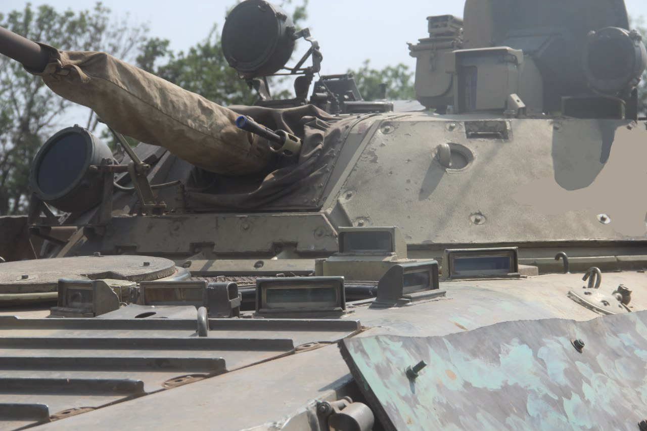 How DPR Fighters Upgrade Their Infantry Fighting Vehicles (Photos)