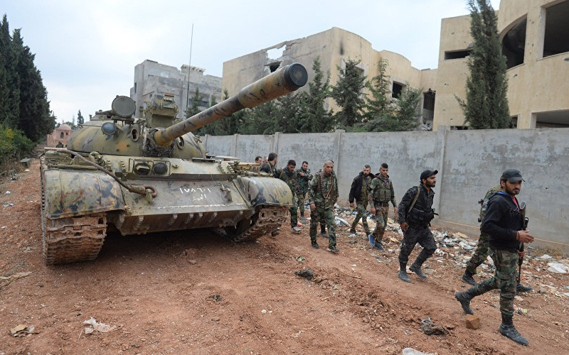 Syrian Army Sets Fire Control over Ramouseh Corridor - Reports
