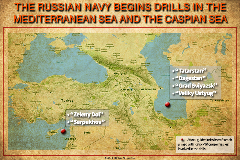 After Deploying Warplanes to Iran, Russia Prepares to Use Cruise Missiles against Terrorists in Syria