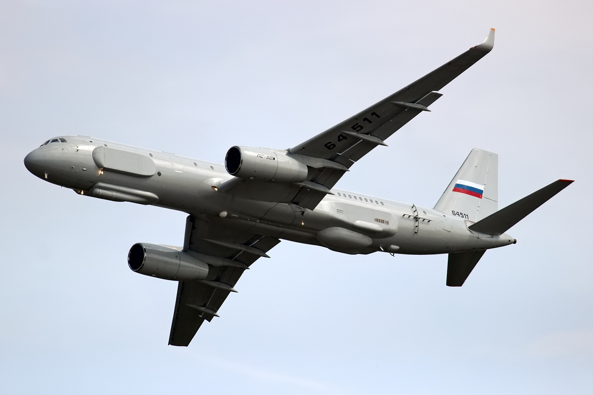 New Russian Reconnaissance Aircraft TU-214R in Syria: Trial by Fire