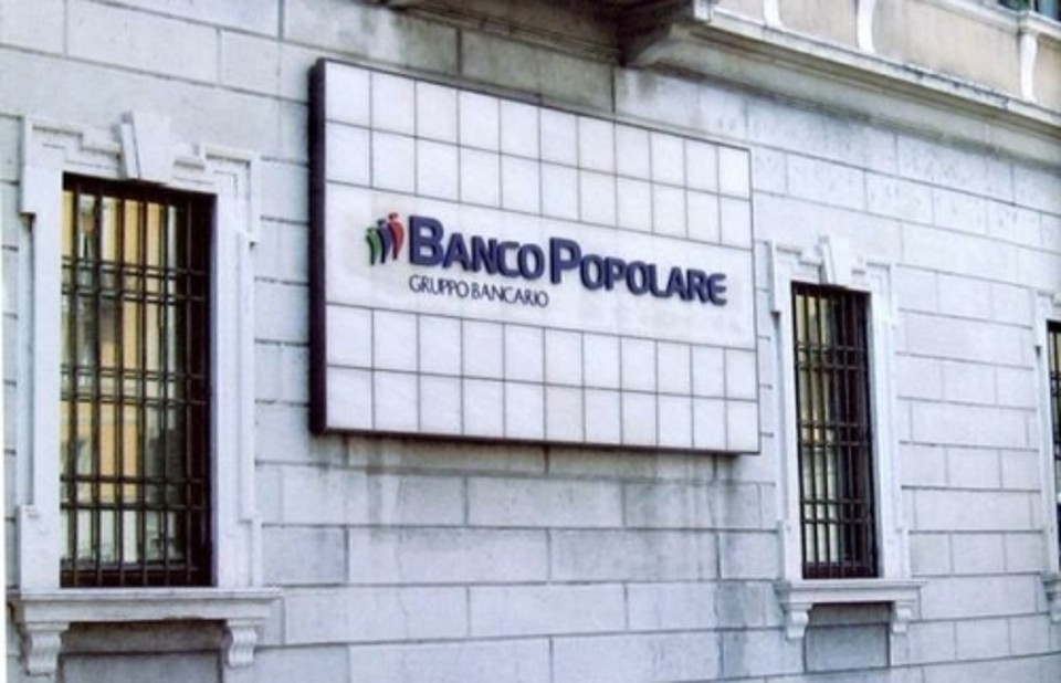 Italy: Banco Popolare Announces 380 Million Euro Red Ink