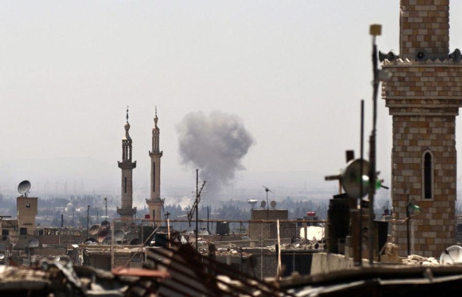 US Aircraft Bombard Manbij: Over 40 Civilians Killed