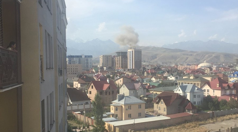 Car Bomb Attack on Chinese Embassy in Bishkek, Kyrgyzstan (Photo & Video)