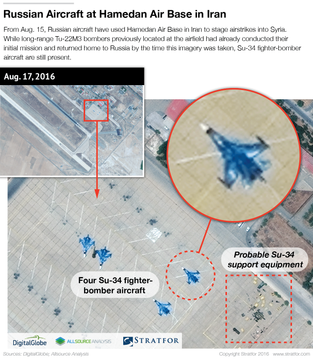 Satellite Imagery Reveals Important Details of Russian Aerospace Forces' Deployment to Hamedan Air Base in Iran