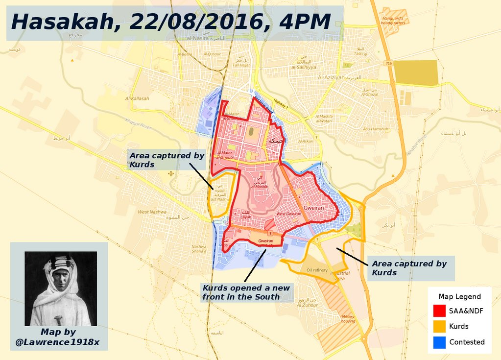 48 Killed, 138 Wounded in Hasakah Clashes
