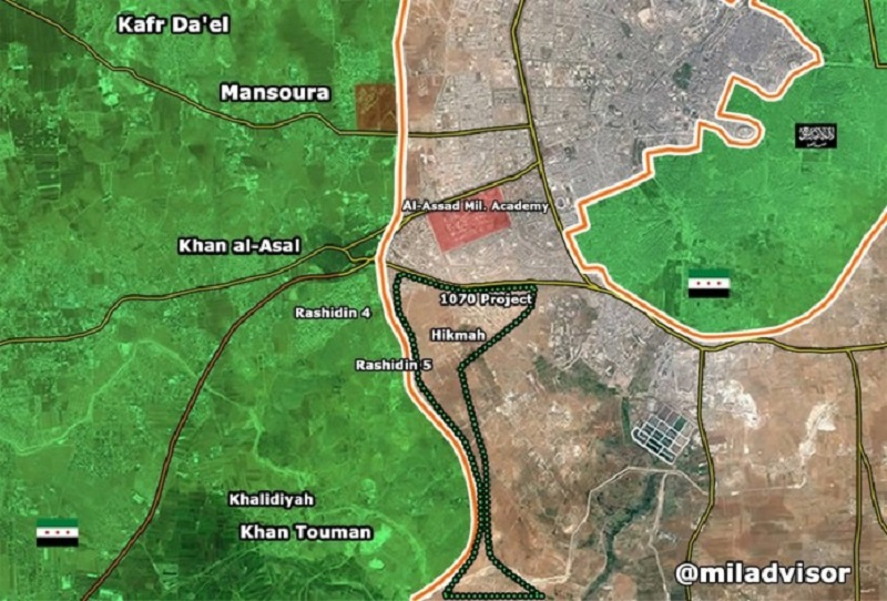 Jihadist rebels capture key site in Aleppo City