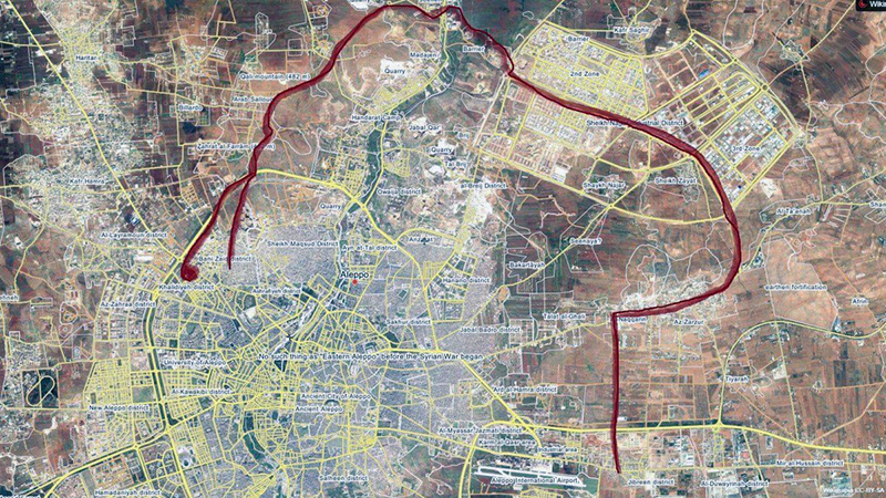 Syrian Army opens new supply line to Aleppo