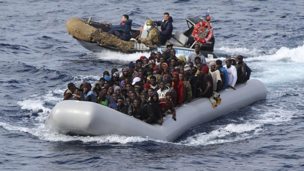 6,500 Migrants Rescued in the Mediterranean Sea in Four Days