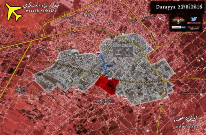 Overview of Military Situation in Syria on August 24