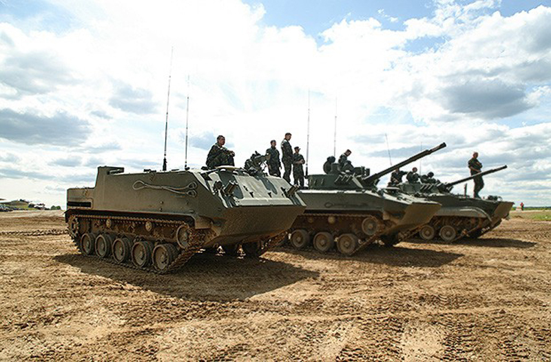 Russian Airborne Troops to Get 144 BMD-4M & BTR-MD Rakushka by the End of 2016