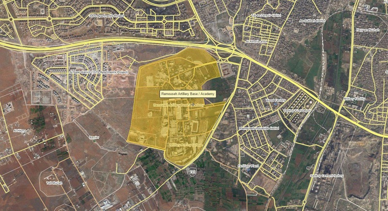 In video: Syrian Air Force launches air strikes on Ramousah military base