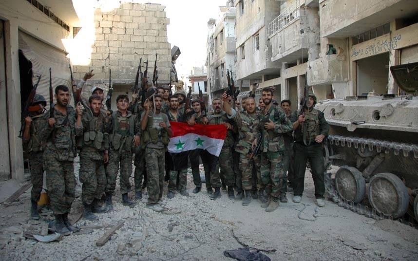 Syrian Army Intensifies Attacks on ISIS near Arak Oilfield in Homs