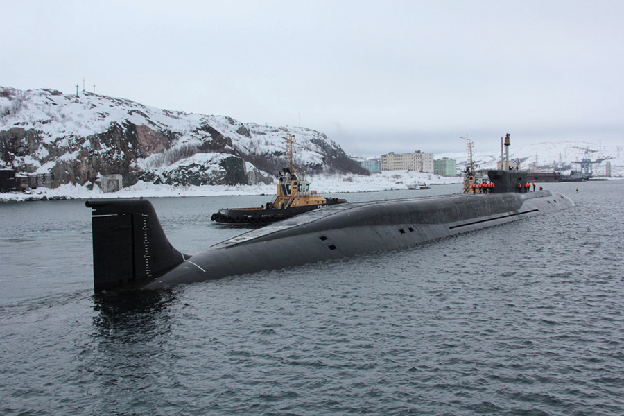 Russian Newest Strategic Nuclear Submarine Arrived to Pacific Fleet