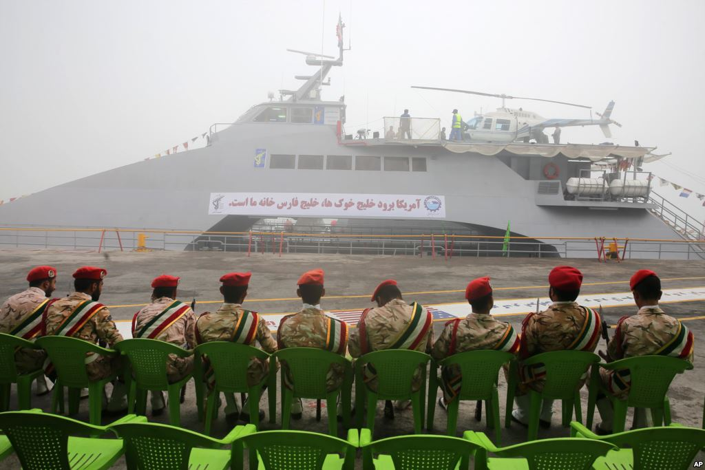 Iran Unveils New High-Speed Ship with Warning Message for ...