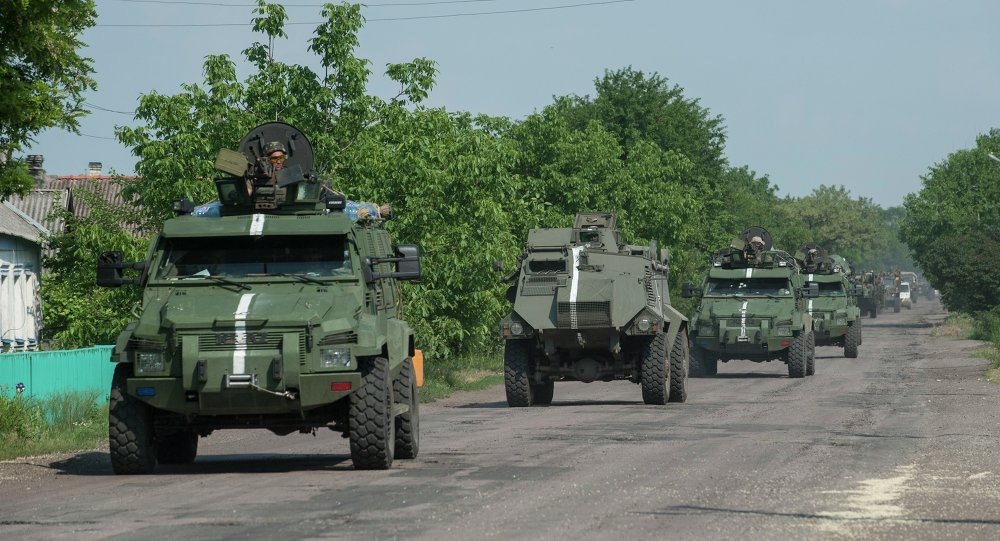 Kiev Sends More Military Hardware & Personnel to Contact Line in Donbass
