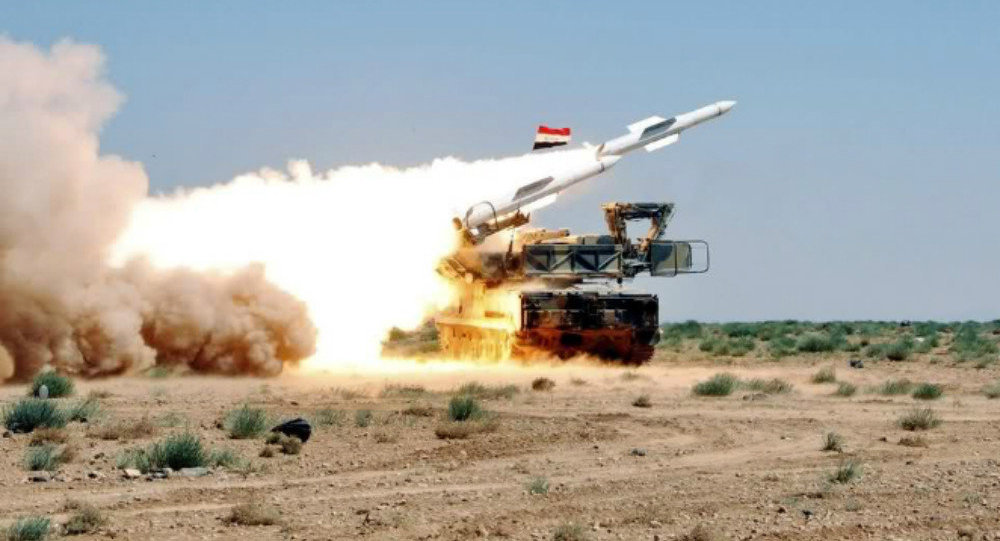 Syrian Air Defense Forces Shoot Down Two Israeli Aircraft that Bombed Syrian Army in Quneitra