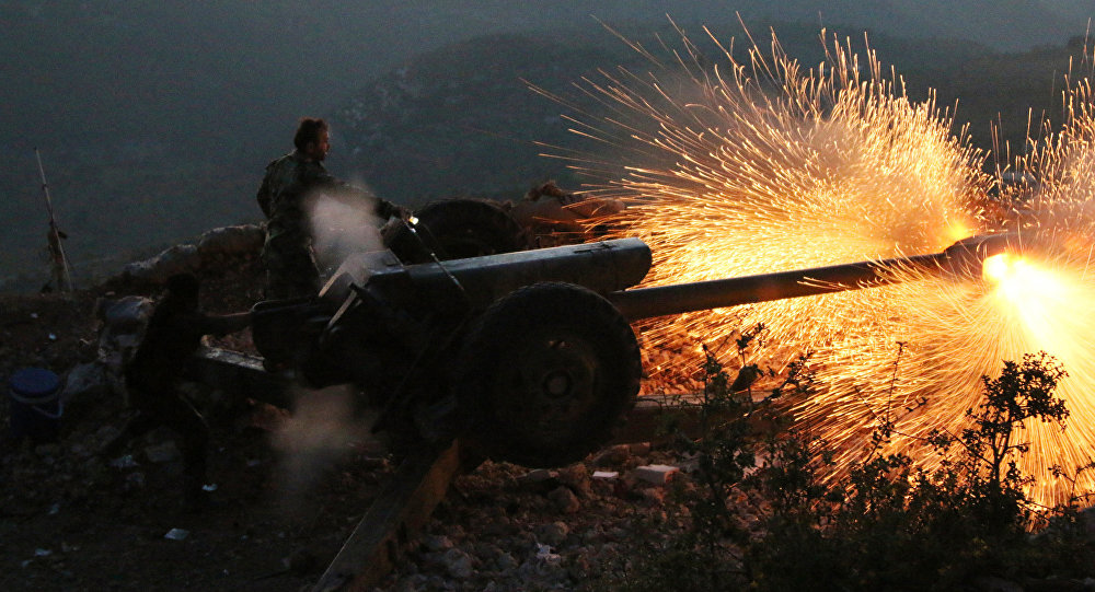 Syrian Army Continues Fierce Clashes with Terrorists in Eastern Ghouta