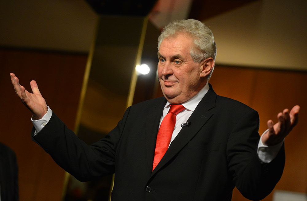 Czech President: Crimea Cannot Be Returned to Ukraine