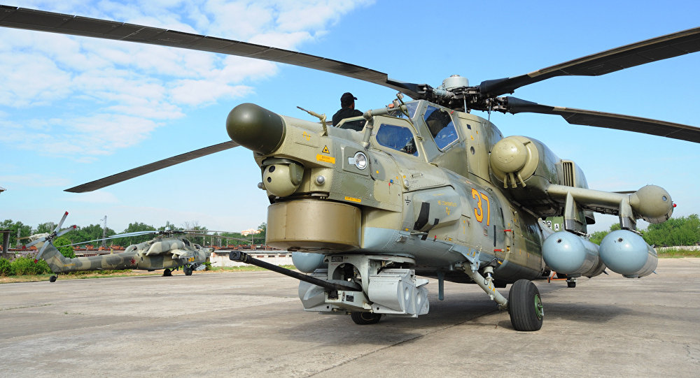 Ein Al-Assad Airbase in Western Iraq Received Russian Helicopters