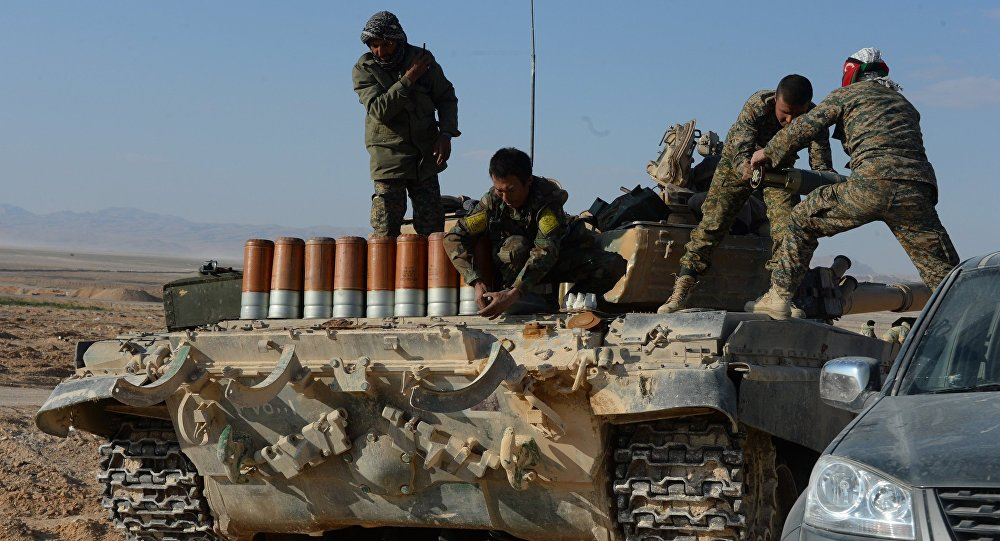 Syrian Army Goes on Alert near Palmyra Due to Reports of Imminent ISIS Attack