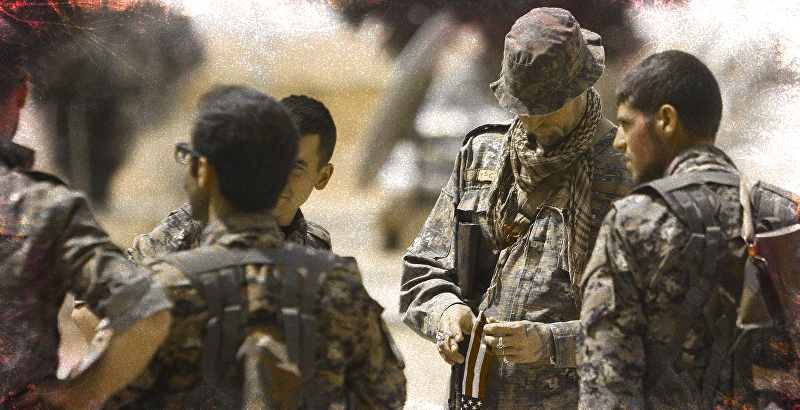 US Troops Enter Areas near Aleppo City