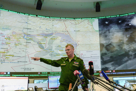 Russian MOD responds to US threatening its servicemembers in Syria