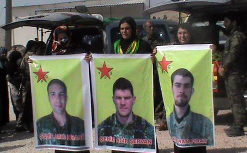 3 American's killed fighting ISIS with YPG in Manbij, Syria