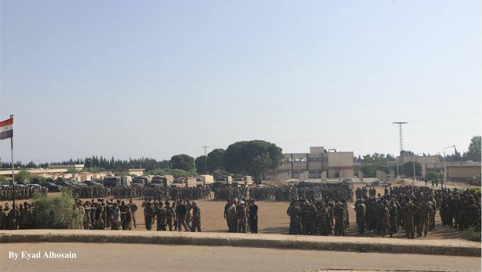 Over 1,000 Syrian Marines Complete Training in Latakia