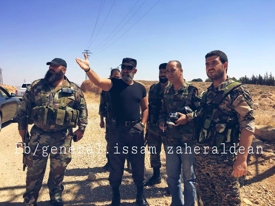 Syrian Republican Guard General Arrives Quneitra Province